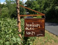 Heirloom Acre Farm - My CSA that I can Walk to!!