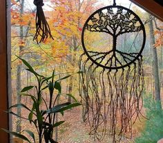 ~ Macrame Wall Hanging Macrame Wall Art Macrame Tapestry Tree of Life Wall Decor Wall Hanging Dream Catcher Christmas Gift Hemp 8 Inch Hoop ~  Made with all natural hemp and beautiful glass beads, you can customize your macrame wall hanging by choosing from 12 bead colors. This makes a lovely piece for your bohemian hippie home!  DIMENSIONS Hoop diameter- 8 inches (20.32 cm) Length from top of hoop- 20 in (50.8 cm).  HOW TO ORDER There are 12 colors to choose from in the last picture. IF you…