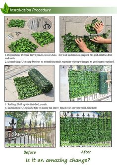 7 Honest Tips AND Tricks: Artificial Flowers Table large artificial plants topiaries.Artificial Grass Events artificial plants decoration home decor. Fence Landscaping, Backyard Fences, Garden Fencing, Pool Fence, Plant Wall, Plant Decor, Lattice Fence, Modern Fence, Office Plants