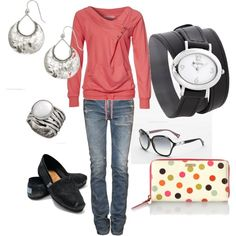 Great Fall weekend outfit!  Love the watch!