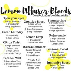 Doterra essential oil diffuser blends using lemon, peppermint, frankincense, rosemary, on guard, line, wild orange, elevation, spearmint, ylang-ylang, Melaleuca, citrus bliss, purify, bergamot