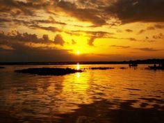 Amanecer en la Represa de Calabozo... Estado Guárico , Venezuela