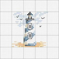 Thrilling Designing Your Own Cross Stitch Embroidery Patterns Ideas. Exhilarating Designing Your Own Cross Stitch Embroidery Patterns Ideas. Cross Stitch Sea, Cross Stitch Cards, Cross Stitching, Cross Stitch Embroidery, Embroidery Patterns, Hand Embroidery, Kawaii Cross Stitch, Cross Stitch House, Simple Cross Stitch