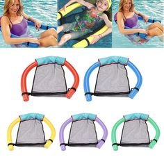 Floating Chairs for Pool: Swimming Floating Chair Pool for Kids and Adults, Lightweight Floating Beach Ring, Pool Accessories. Floating Chair, Pool Chairs, Kid Pool, Pool Accessories, Beach Essentials, Beach Toys, Bikini Workout, Pool Designs, Bikini Models
