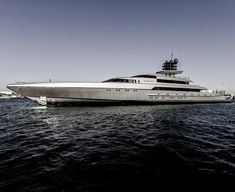 """Silver Yachts launched the new 77m """"Silver Fast"""", designed by Espen Oeino"""