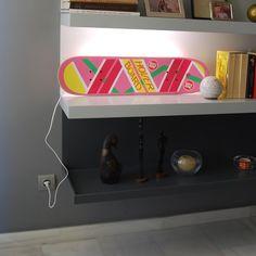 Fancy   Hoverboard Lamp Accessoires Planche À Roulettes, Planches À  Roulettes, Retour Vers Le