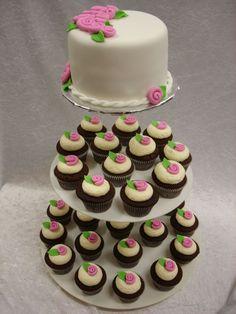 maybe a cupcake weeding cake?