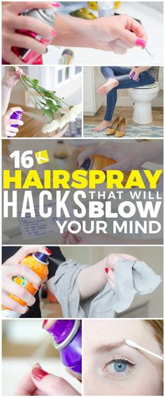 16 Hairspray Hacks That Will Blow Your Mind