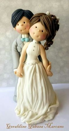 Novios para pastel de bodas