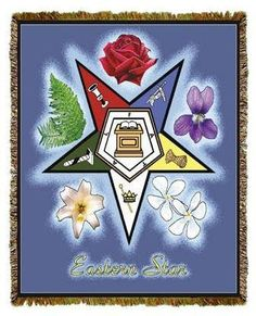 ItsABlackThang.com - Order of Eastern Star - tapestry throw