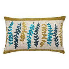 Multi Row Leaf Cushion (Dunelm Mill)