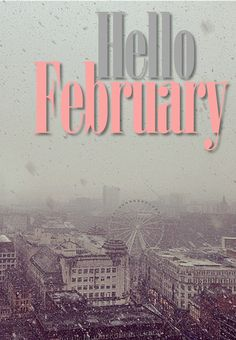 Hello February. Read my post on my blog about how I'm coping with the cold by wrapping up warm, drinking hot chocolate and sharing my snow puns