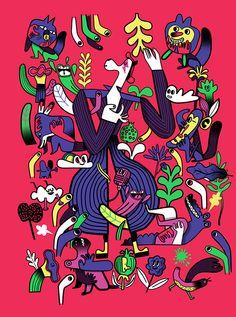 Burro glam by Diego Marmolejo, via Behance