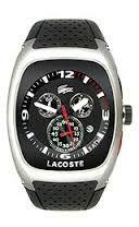 LACOSTE Male Sports Watch  2010327 Black Analog Sale price. $192.95