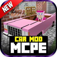 Car MOD For MCPE! 1.0