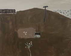 "David Pearce: Meadow Pink Pigs, Mixed media on linen, 47"" x 59"" (119.4cm x 149.9cm)"