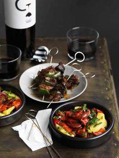 Chorizo, potato and pepper salad (as long as the chorizo is gluten free) #gourmet #food