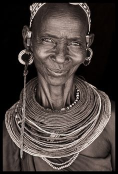 North Kenya, Portrait by John Kenny