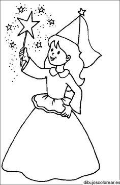 Dibujos de Duendes  Dibujos para Colorear  HADAS Y DUENDES