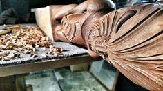 Maori Carving, Iwi Le Comte Maori Artist, Rotorua New Zealand Polynesian People, Polynesian Culture, Rotorua New Zealand, Maori Art, Carving, Contemporary, Artist, Wood Carvings, Artists