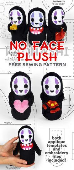 Plushie Patterns, Animal Sewing Patterns, Sewing Patterns Free, Free Sewing, Free Pattern, Homemade Stuffed Animals, Sewing Stuffed Animals, Stuffed Animal Patterns, Felt Diy