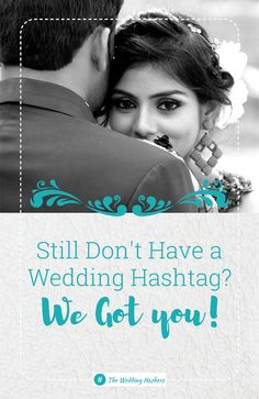 Looking for a great wedding hashtag? Get the best wedding hashtag from a professional writer, not a generator. Try us out for great hashtags with any names!