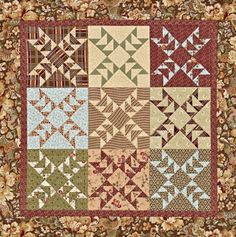 Quilts Made of Civil War Reproduction Fabrics   AllPeopleQuilt.com