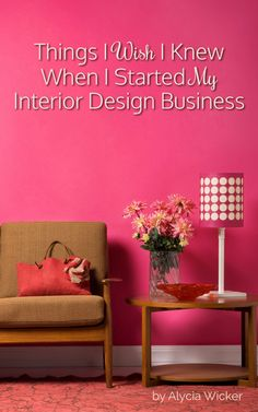Free tips to help you Start An Interior Design Business