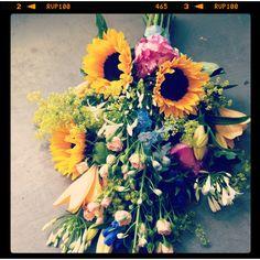 #funeral #rouwboeket by funkyflowers.nl