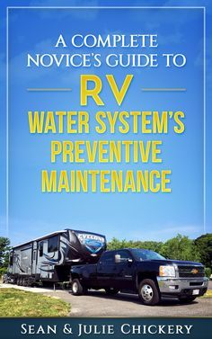 This book covers the water systems in the RV and how you can maintain them to reduce costly trips to the RV technician. It is a compilation of preventive maintenance for RV water systems with words and pictures.