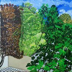 Original Landscape Painting by Martina Gasp September Art, Saatchi Art, Original Paintings, Canvas Art, Fine Art, Landscape, The Originals, City, Art Art