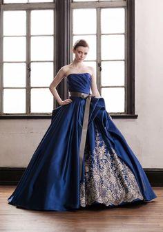 Royal Dresses, Unique Prom Dresses, Ball Gown Dresses, Colored Wedding Dresses, Pretty Dresses, Wedding Dress Patterns, Stylish Dress Designs, Ethnic Wear Designer, Fantasy Dress