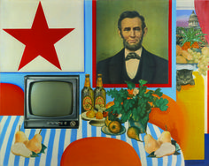 Tom Wesselmann at the Galerie Pascal Lansberg.