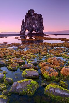 Rock Formation In Iceland