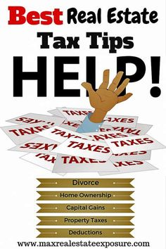 11 Real Estate Tax Tips and Strategies For Your Business There are tax advantages to home ownership. Tax deductions for homeowners have been in place Real Estate Career, Real Estate News, Selling Real Estate, Real Estate Investing, Real Estate Articles, Real Estate Information, Divorce, Tax Help, Property Tax