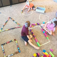 Environment up centres with preschool along with school schools might be a really complicated task. Preschool Centers, Preschool At Home, Preschool Learning, Kindergarten Math, Preschool Crafts, Teaching, Fun Activities For Toddlers, Preschool Activities, Learning Shapes