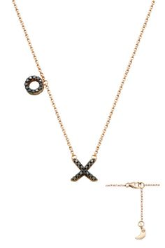 XO Necklace Double Side | Alene Too