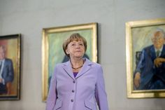 Kanzlerin Merkel in Berlin: Plant den Wahlkampf