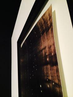 Kate ROBERTSON, Pinhead Pluto 2014, toned gelatin silver print. DETAIL.