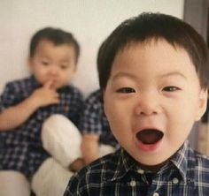 Photobomber. | The return of superman | Manse x Minguk