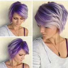 Thank you to @nothingbutpixies for featuring our work! @salamanda21 did the color (ON HERSELF!) and I did the cut and style. This has always been one of my favorite collaborations. Love me some purple hair! #nothingbutpixies #purplehair #btc #btcpics #licensedtocreate #cosmoprof #silverhair #dyeddollies #modernsalon #hairbrained #guytang #dyejob #dyedhair #beauty #utahsalon #utahstylist #balayage #olaplex #love #fiidnt