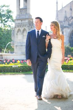 But this Paris elopement pretty much takes the cake on romance. I'm talking vows in the Chapelle Expiatoire, photos by the Eiffel Tower, and glam-driven s. Paris Elopement, Paris Wedding, Paris Photography, One And Only, Vows, Wedding Engagement, Glamour, Wedding Dresses, Pictures