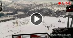 Beautiful as skiing upside the sky! Enjoy this charming view of #Bormio in #Italy! Live webcam >