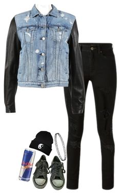 """""""I'll break your halo"""" by xxghostlygracexx ❤ liked on Polyvore featuring Yves Saint Laurent, rag & bone and AllSaints"""