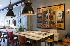 The table is one of van der Velden's original designs