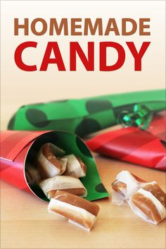 Homemade Candy on Instructables - downloadable ebook