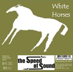 Artwork for the mp3 single: The Speed of Sound - White Horses