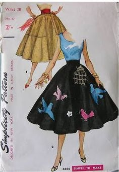 Jeepers!  Love the bird and cage applique--- though I might just make a single bluebird... Wow love this love it!  (also the massive pockets!)