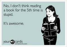 Certain books, like Harry Potter, oh yes!!