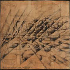 Disintegrations x Speed, Penetrations Dynamic Automobile -Giacomo Balla (1913)